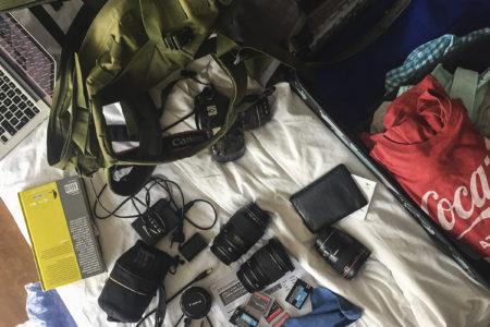 Dużo sprzętu – mały bagaż: czyli fotograf w samolocie