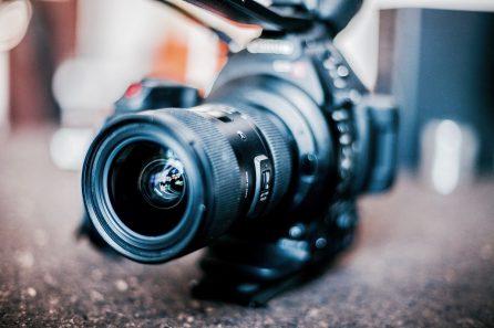 obiektyw filmowy